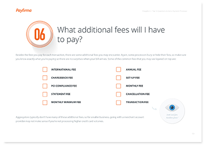 What fees will I pay?