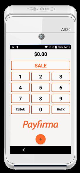 AP20 Face Payfirma Branding